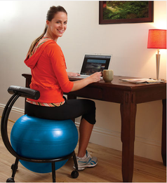 compare best balance ball chairs gaiam isokinetics inc or sivan - Gaiam Ball Chair