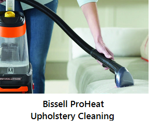 Bissell ProHeat Upholstery Cleaning