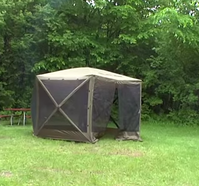 Screen tent ready to enjoy! : clam 1660 mag screen tent - memphite.com
