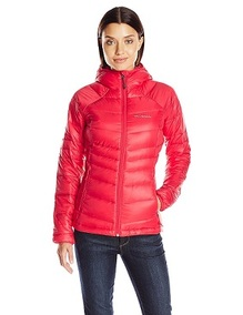 Columbia Women's Gold 650 TurboDown Radial Down Hooded Jacket
