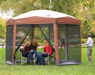 Coleman Instant Screened Canopy & Compare Screen Tents: Coleman vs. Clam - Top Product Comparisons