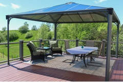 Compare Garden And Patio Sun Shelters: Gazebos Vs. Offset Umbrellas   Top  Product Comparisons