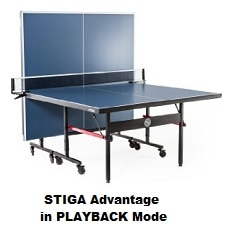 Stiga Advantage in Playback Mode