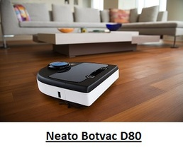 Neato Botvac D80 in action