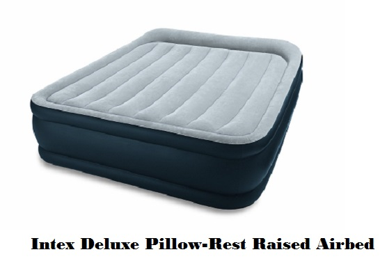 Intex Deluxe Pillow-Rest Raised Airbed