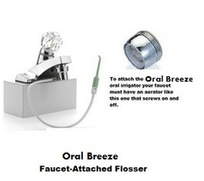 RediBreeze Flosser by Oral Breeze