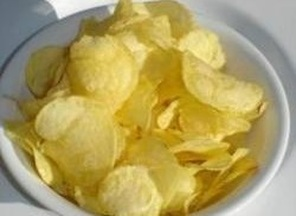 Microwaved Potato Chips
