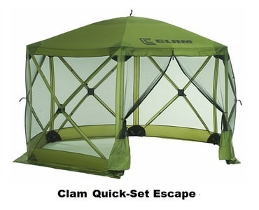 Clam 9281 Quick-Set Escape Screen Shelter