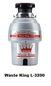 Wastte King L-3200 Garbage Disposal System