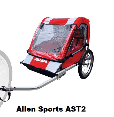 Allen Sports AST2 Bicycle Trailer