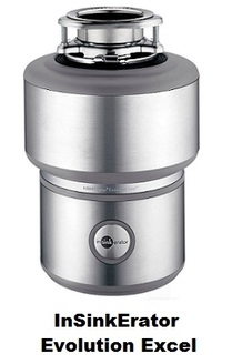 InSinkErator Evolution Excel Garbage Disposal System
