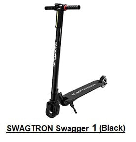 SWAGTON Swagger  Electric Scooter (black)