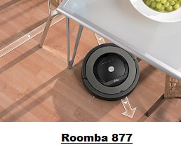 Roomba 877 in action
