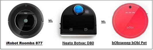 Roomba vs. Neato vs. bObi Pet