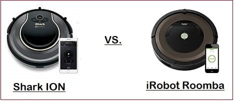 Comparing Shark ION 750 & 720 with iRobot Roomba 890 & 690