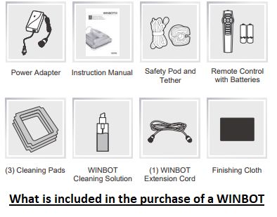 ECOVACS WINBOT Robot Accessories