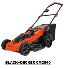 Compare Cordless Electric Lawn Mowers Black Decker Cm2040