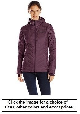 ​Columbia Women's Mighty Lite Hooded Plush Jacket