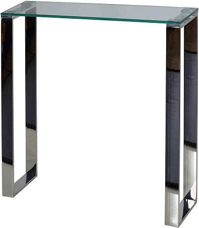 Cortesi Home CH-AT656924 Forli Small Entry Way Console Table