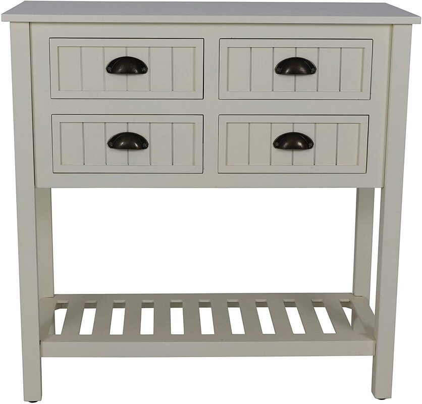 Decor Therapy Bailey Bead Console Table