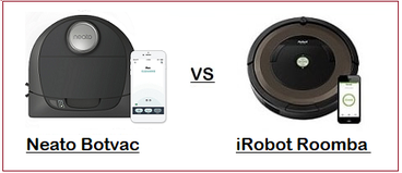 Comparing Neato Botvac D3 & D5 with iRobot Roomba 690 & 890