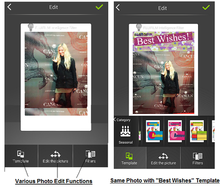 Fujifilm Instax Share SP-2 App Functions