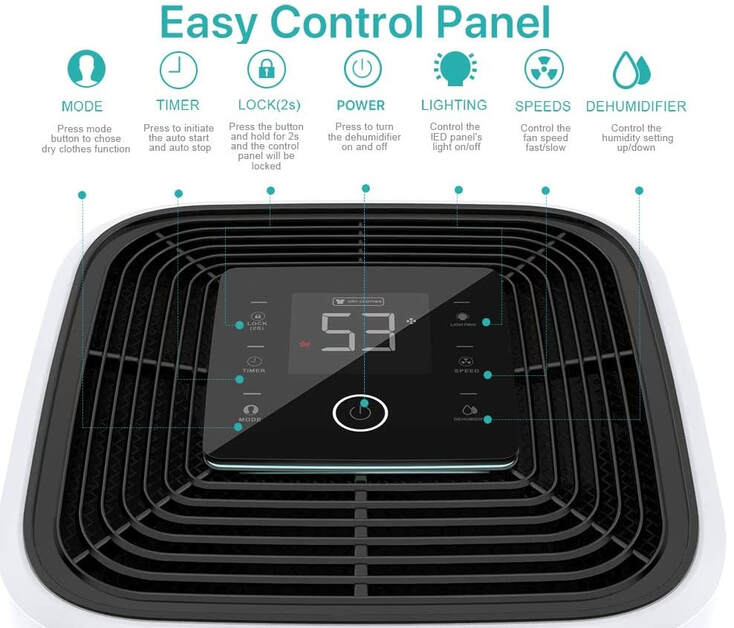 KESNOS PD253D Humidifier Control Panel
