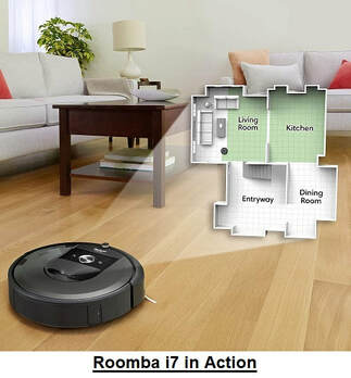 Roomba i7 in Action