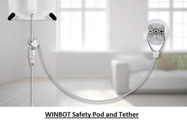 ECOVACS WINBOT Safety Pod and Tether