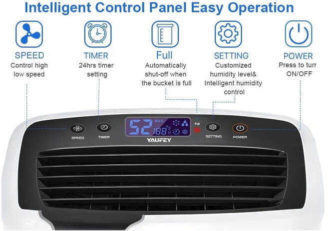 YAUFEY PD161D Humidifier Control Panel