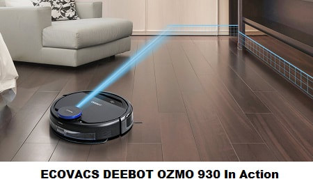 ECOVACS Deebot OZMO 930 in Action