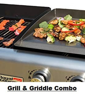 Royal Gourmet Grill and Griddle Combo