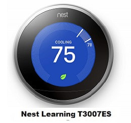 Nest Learning T3007ES Wi-Fi Thermostat