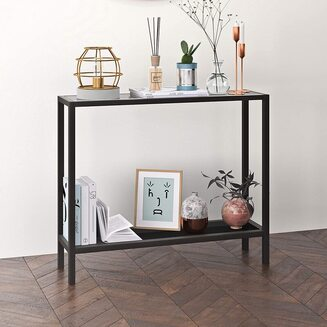 Henn&Hart Metal Console Table