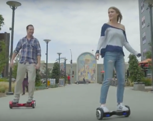 SWAGTRON Hoverboards in action!
