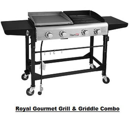 Royal Gourmet Grill & Griddle Combo