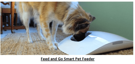Feed and Go Smart Pet Feeder